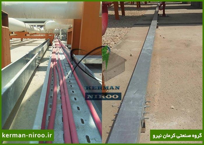 سینی کابل در پروژه شرکت تاسیسات گاز مایع پارس فیدار پایدار