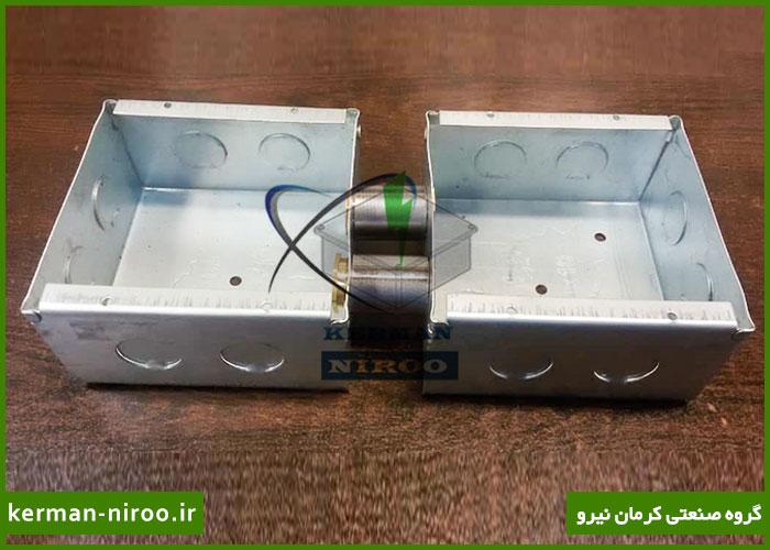 سازنده جعبه تقسیم برق روکار و توکار