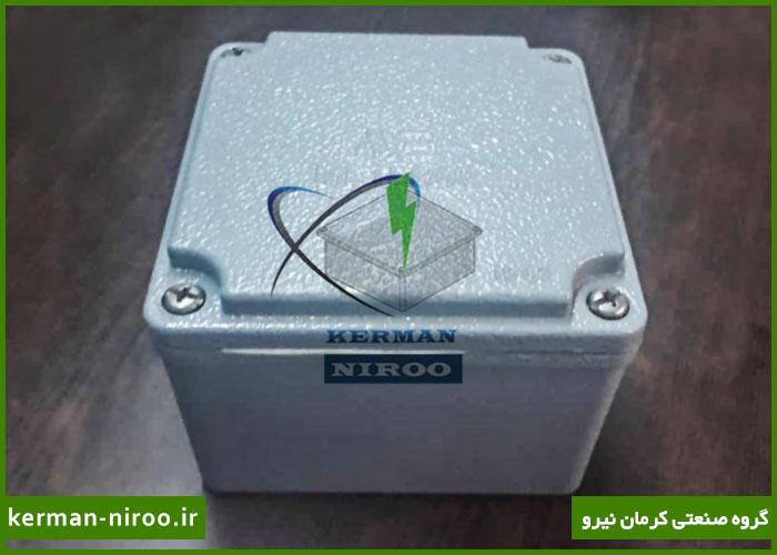جعبه تقسیم 10x10 واترپروف ip 67 آلومینیومی