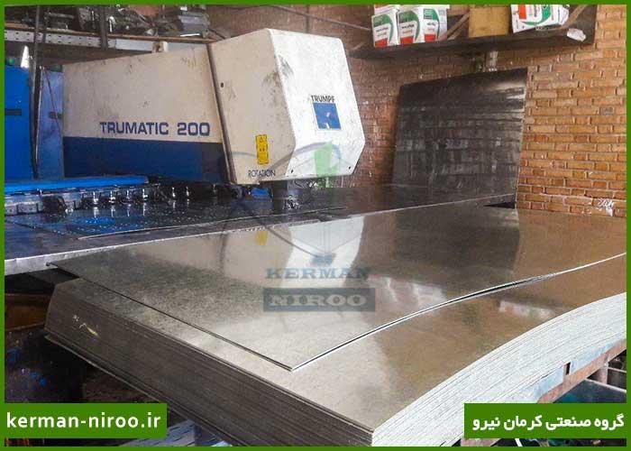 ساخت سيني كابل در کرمان نیرو
